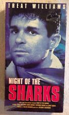 Night of the Sharks (NEW SEALED VHS/EP, 2000) Treat Williams Chris Connely