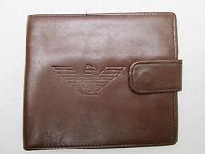 -AUTHENTIQUE portefeuille porte-monnaie GIORGIO ARMANI    cuir TBEG vintage