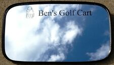 Custom marked Rearview Mirror for Golf carts EZ Go, Club Car, Yam, Beer/GolfBall