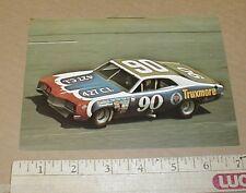 1971 Ford Mercury Truxmore Junie Donlavey vintage nascar racing handout Postcard