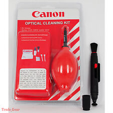 Red 7 in 1 Professional Lens Cleaning Kit+Cleaner Pen For Canon EOS M 1DX G1X