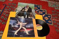 ADRIANO CELENTANO LP JOAN LUI 1°ST ORIGIN 1985 EX+ COPERTINA LAMINATA E POSTER
