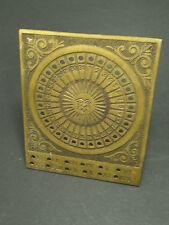Ancien Calendrier Solaire Perpetuel en Laiton