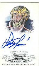 STEVE MASON 08/09 UPPER DECK CHAMP'S MINI SIGNATURE RC