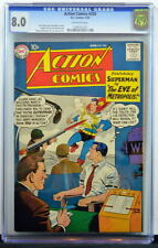 ACTION COMICS #250 CGC 8.0 Superman 1959 2nd Highest Graded copy