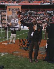 John Wooten Cleveland Browns Football SIGNED 8x10 Photo COA!