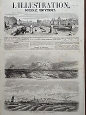 L' ILLUSTRATION 1854 N 597 LES PHARES DE LA MER NOIRE