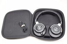 Audio-Technica ATH-M70x Full Size Over Ear Monitor Headphones - Black/Silver