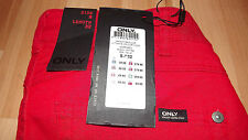 Only Red Womens SKINNY Jeans Size Small 32 Length UK 6 - 8