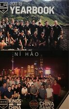 2017-2018 LA KINGS YEARBOOK STANLEY CUP FINALS? 2017 NHL CHINA GAMES NI HAO!
