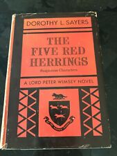 Lord Peter Wimsey Mystery Ser.: The Five Red Herrings Dorothy L. Sayers Hc 1s ed