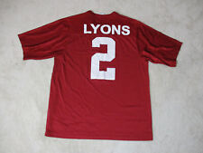 3411e0715626c1 Nike Stanford Cardinal Football Jersey Adult Medium Red White College Mens