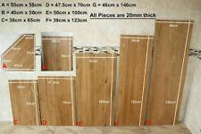 Oak Timber Offcuts Work Tops   Solid Oak Planks   Oak Boards for Shelving