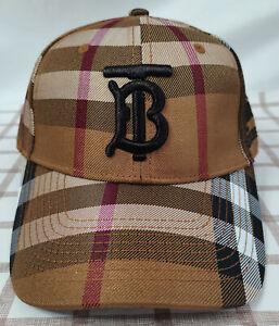 Burberry TB Hat Baseball Cap Adjustable Back Casual Men Or Women Hat