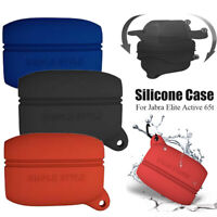 Earphones Pouch Protective Cover Silicone Case For Jabra E lite Active 65t