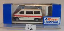 Roco 1/87 No.2411 VW T4 Bus Polizei Zürich OVP #042