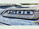 Hood Emblem Vinyl Decal Badge Overlay Fits 2019 2020 Ram 1500 Hemi Bts