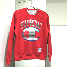 UNUSED SUPREME 19SS Supreme/Champion Chrome Crewneck Sweater