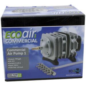 Ecoplus Commercial Air 1 Pump 18 Watt - aquarium hydroponics eco plus divider
