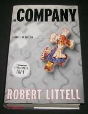 First Ed Signed Robert Littell THE COMPANY CIA Hungarian Revolution Bay of Pigs
