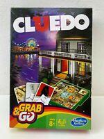 Cluedo Grab & Go von Hasbro Gaming Brettspiel Gesellschafts Reise Englisch