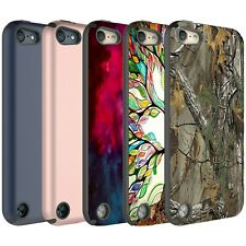 iPod Touch 6 / iPod Touch 5 Case, Dual Layer Shockproof Case + Screen Protector