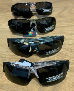 Xloop Polarised half frame Camo camouflage Sunglasses 100%uv blocking no glare