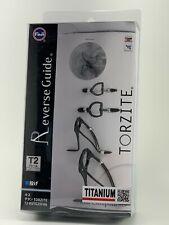 Fuji original T2-RVTG25FH6 Torzite Ring Titanium dark Frame Guide set Free SHP.