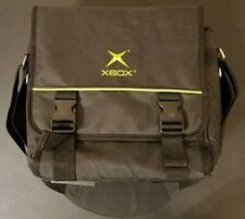 Original XBOX Black Messenger Bag Crossbody Case Carry with Strap EUC