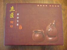 Chinese Tea Set with three tea cups