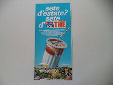 advertising Pubblicità 1978 FERRERO ESTATHE' ESTA THE'