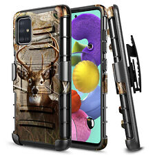 For Samsung Galaxy A71 5G Case Armor Shockproof Belt Clip Kickstand Phone Cover