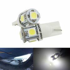 10x 168 194 W5W T10 Glassockel Lampen Auto Leselampe Innenraum Beleuchtung Birne