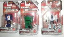 3 Transformers Universe 2009 Gen 1 Series Mini Con Brawn Beachcomber 25th + Jazz