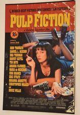 Quentin Tarantino Signed Autograph PULP FICTION 12X18 Movie Poster Photo COA VD
