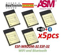 5pcs ESP32 ESP-WROOM-32 ESP-32S ESP-32 Bluetooth and WIFI Dual Core CPU DOIT