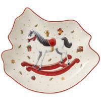 VILLEROY & BOCH Toy's Delight Servierschale Teller Schaukelpferd Porzellan