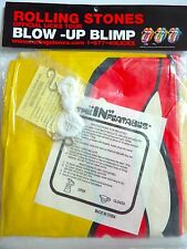 Rolling Stones Inflatable Blow Up Blimp NIP Zeppelin Licks Tour Official Promo