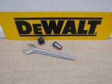 """DEWALT DE6278 1/2"""" COLLET & 942893-01 NUT + 22MM SPANNER DW625E  T11E ETC"""