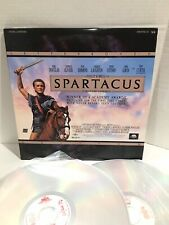 Spartacus Letterboxed  (Laserdisc) Pre - Owned