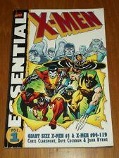X-MEN ESSENTIAL VOL 1 #94-119 MARVEL CLAREMONT COCKRUM BYRNE< 9780785102564