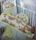 Baby Steps Cross Stitch Quilt #9201 Deer Bunnies Butterflies