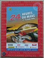 LE MANS 24 HOUR ENDURANCE CAR RACE 2006 Official Programme