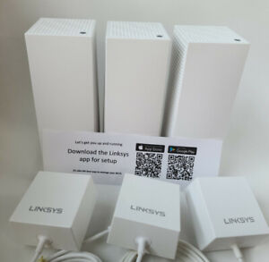 Linksys Velop WHW0303 AC6600 Whole Home Mesh WiFi System 3 Pack