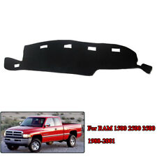 For Dodge Ram 1500 2500 3500 1998-2001 Dashboard Dash Mat Dashmat Sun Cover Pad