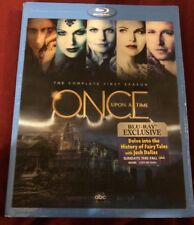 Once Upon a Time: The Complete First Season (Blu-ray, 2012, 5-Disc, Holographic)