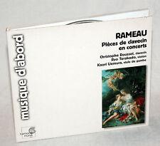 CD Rameau-Pieces de clavecin en concerts-Christophe Rousset