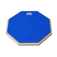 PAITITI 10 Inch Silent Portable Practice Drum Pad Blue Color w Carrying Bag