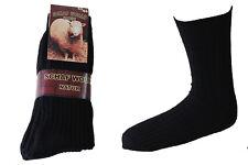 12 Paar Herren Norweger Socken 60 wolle schwarz 47/50