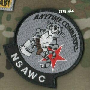 USN Haut Pistolet École Nsawc Original F-14 Tomcat Vêlkrö Insignes : Anytime